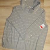 женский стильный свитер оверсайз пайетки от C&A. Нюанс!