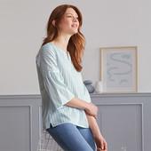 Очаровательная блуза из 100% хлопка, Tchibo размер нем 38