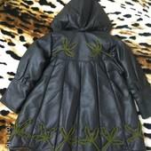 Шикарное пальто-манто