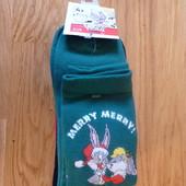 4 пары! Комплект, яркие носки с новогодним принтом C&A, размер 39-42