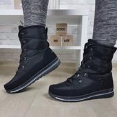 Последние 36! Шикарные зимние ботинки. Качество! Украина!