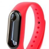 Фитнес браслет intelligence health bracelet M4 красный