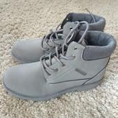 Ботинки,новые,лёгкие,светло-серый,удобная посадка