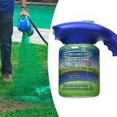Жидкий газон распылителем Hydro Mousse читайте описанием