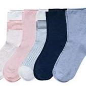 ☘Лот 5 пар☘ Чудові шкарпетки від Tchibo(Німеччина), розміри: 39-42